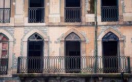 Abandono que construye Lisboa Fotos de archivo