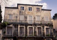 Abandono que construye Lisboa Imágenes de archivo libres de regalías