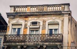 Abandono que construye Lisboa Foto de archivo libre de regalías
