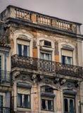 Abandono que construye Lisboa Foto de archivo