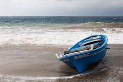 Abandonou o barco. Imagens de Stock