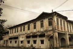 Abandons Ancient Shop Lots Royalty Free Stock Images