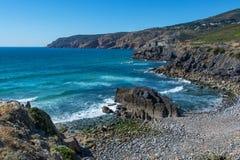 Abano strand i Cascais, Portugal Fotografering för Bildbyråer