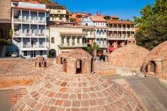 Abanotubani à Tbilisi Photographie stock libre de droits