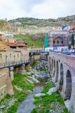 Abanotubani à Tbilisi Image libre de droits