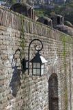 Abanotubani - Bad-Bezirk - ist der alte Bezirk von Tiflis, Georgia, bekannt für seine schwefligen Bäder Lizenzfreie Stockfotografie