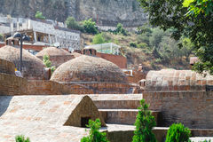 Abanotubani-Bezirk in der alten Stadt von Tiflis Es ist Bezirk w Stockbilder