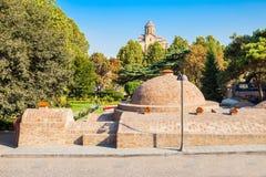 Abanotubani en Tbilisi Imágenes de archivo libres de regalías
