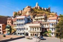 Abanotubani en Tbilisi Foto de archivo