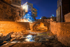 Abanotubani es el distrito antiguo de Tbilisi Fotografía de archivo libre de regalías