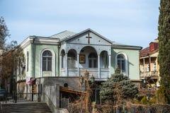 Abanotubani es el distrito antiguo de Tbilisi, Georgia Fotografía de archivo libre de regalías