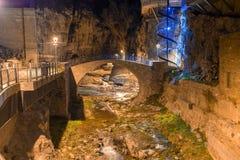 Abanotubani ist der alte Bezirk von Tiflis Lizenzfreie Stockfotos
