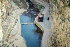 Abanotubani ist der alte Bezirk von Tiflis Lizenzfreie Stockbilder