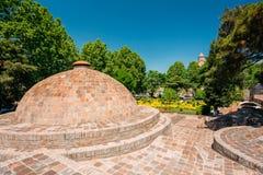 Abanotubani - secteur de Bath à Tbilisi, la Géorgie Image stock