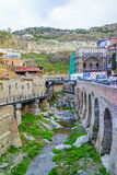 Abanotubani in Tbilisi Royalty-vrije Stock Afbeelding