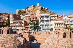 Abanotubani in Tiflis Stockbilder