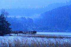 abant озеро стоковое изображение rf