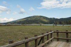 湖Abant 库存图片
