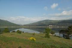 湖Abant 库存照片