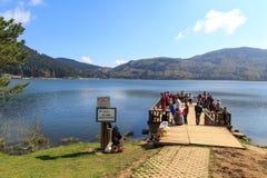 Abant jeziora widok obrazy royalty free