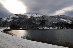 abant jezioro zdjęcie royalty free