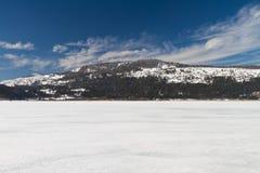abant lake Arkivfoto