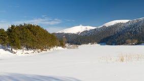 abant lake Arkivfoton