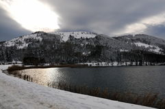 abant lake Royaltyfri Foto