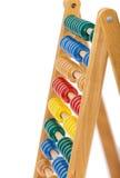 Abaque avec les billes en bois Image stock