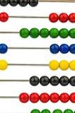 Abaque avec les perles colorées Photos stock