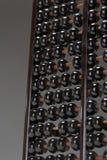 Abaque avec les perles noires Photo stock
