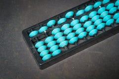 Abaque bleu Images stock