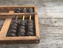 Abaque, calculatrice antique pour l'éducation Photographie stock libre de droits