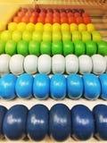 Abaque coloré Photo libre de droits