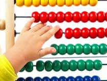 Abaque coloré de jouet Photo libre de droits