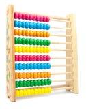 Abaque coloré de jouet pour apprendre le compte Images libres de droits