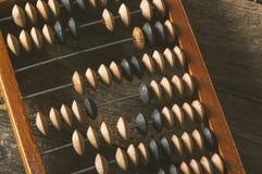 Abaque de vintage sur le fond en bois Photographie stock libre de droits
