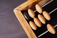 Abaque de vintage sur le fond en bois Photos libres de droits