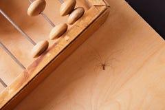 Abaque de vintage sur le fond en bois Images stock
