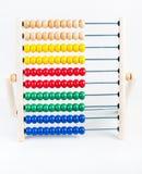 Abaque en bois de couleur Photos libres de droits