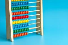 Abaque en bois de couleur Photographie stock libre de droits