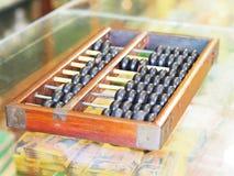 Abaque en bois de vintage Images stock