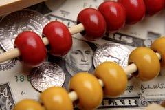 Abaque et devise des États-Unis Photographie stock