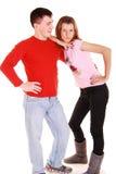 Abarcamiento de pares atractivos. Imagen de archivo libre de regalías