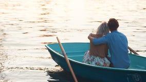 Abarcamiento de pares en un barco Foto de archivo libre de regalías