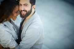 Abarcamiento del amor Imagen de archivo
