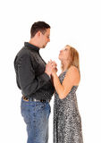 Abarcamiento del marido y de la esposa Fotografía de archivo libre de regalías