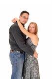 Abarcamiento del marido y de la esposa Foto de archivo