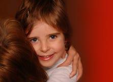 Abarcamiento feliz Imagen de archivo libre de regalías