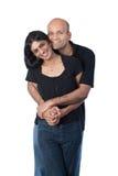 Abarcamiento indio de los pares Fotos de archivo libres de regalías